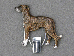 Spanish Galgo - Number Card Clip