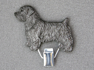 Glen of Imaal Terrier - Number Card Clip