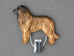 Leonberger - Number Card Clip