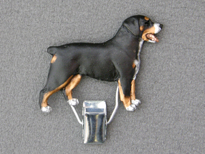 Entlebuch Mountain Dog - Number Card Clip