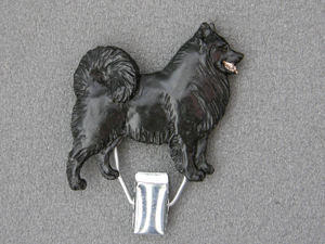 Lapphund - Number Card Clip