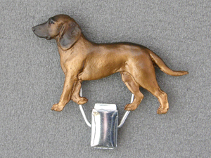 Bavarian Mountain Hound - Number Card Clip