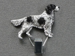 Münsterländer Large - Number Card Clip