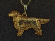 Golden Retriever - Pendant Figure