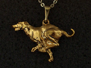 Greyhound - Pendant Figure