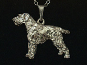 German Wirehaired Pointer - Pendant Figure