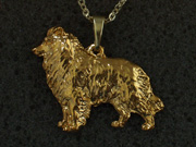 Border Collie - Pendant Figure