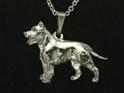 American Staffordshire Terrier - Pendant Figure
