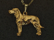 Black & Tan Coonhound - Pendant Figure
