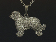 Pyrenean Shepherd Dog - Pendant Figure