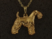 Airedale Terrier - Pendant Figure