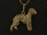 Bedlington Terrier - Pendant Figure
