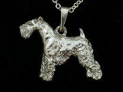 Fox Terrier Wire - Pendant Figure