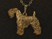 Kerry Blue Terrier - Pendant Figure