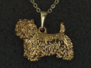 West Highland White Terrier - Pendant Figure
