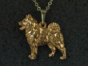 Norwegian Elkhound - Pendant Figure