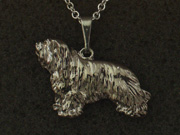 Bearded Collie - Pendant Figure