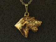 Irish Wolfhound - Pendant Head