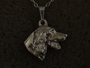 Irish Red & White Setter - Pendant Head