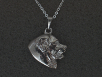 Bernese Mountain Dog - Pendant Head