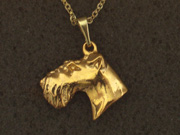 Irish Terrier - Pendant Head
