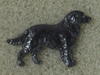 Flat Coated Retriever - Pin Figure