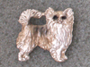 Chihuahua Longhaired - Pin Figure