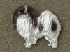 Japanese Chin - Pin Figure