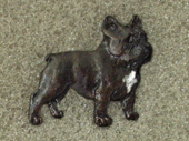 French Bulldog - Pin Figure