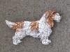 Basset Griffon Venden - Pin Figure