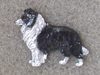 Border Collie - Pin Figure