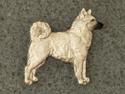 Norwegian Buhund - Pin Figure
