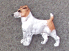 Jack Russell Terrier - Pin Figure