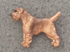 Border Terrier - Pin Figure