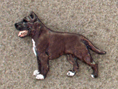 American Staffordshire Terrier - Pin Figure