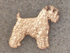 Soft Coated Wheaten Terrier - Pin Figure
