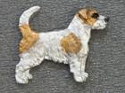Jack Russell Terrier Broken - Pin Figure
