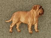 Dogue de Bordeaux - Pin Figure