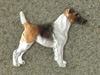 Fox Terrier Smooth - Pin Figure