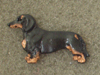 Dachshund Smooth - Pin Figure