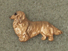Dachshund longhaired - Pin Figure