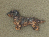 Dachshund Wire - Pin Figure