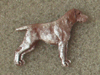 German Shorthaired Pointer - Pin Figure