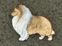 Collie Rough - Pin Figure