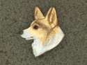 Welsh Corgi Pembroke - Pin Head