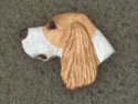 Irish Red & White Setter - Pin Head