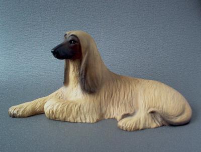 Afghan Hound Sandstone Large Statue Milan Orm Dog Art