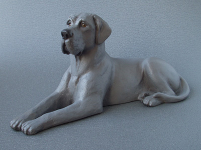 Great Dane - Sandstone Large Statue