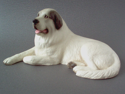 Great Pyrenees - Sandstone Large Statue