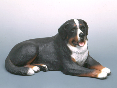 Bernese Mountain Dog - Sandstone Large Statue